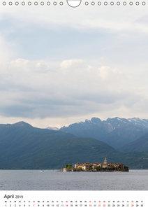 Lago Maggiore - Das Westufer (Wandkalender 2019 DIN A4 hoch)