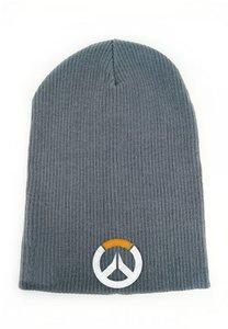 Overwatch - Beanie / Mütze - Grau Logo