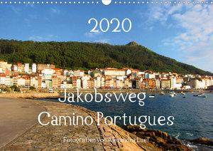 Jakobsweg - Camino Portugues (Wandkalender 2020 DIN A3 quer)