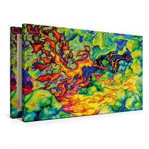 Premium Textil-Leinwand 90 cm x 60 cm quer Refugium