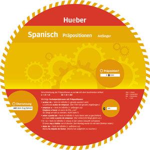 Wheel. Präpositionen Spanisch. Sprachdrehscheibe