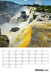 BRASILIEN UND ARGENTINIEN. Die Wasserfälle von Iguazú