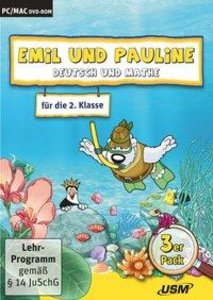 Emil und Pauline 3. 3er Box - Deutsch und Mathe für die 2. Klass