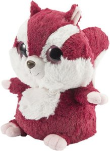 Wärmestofftier Warmies Chewoo rot/weiß
