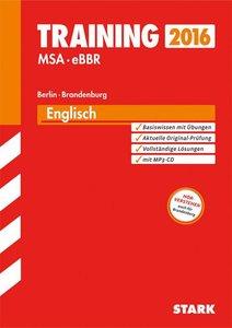Training Englisch mit MP3-CD Mittlerer Schulabschluss Berlin