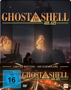 Ghost in the Shell 2.0 - Movie 2, 1 DVD
