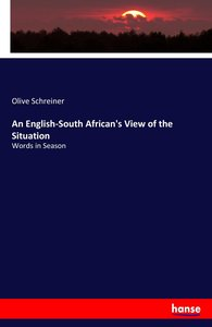 An English-South African\'s View of the Situation