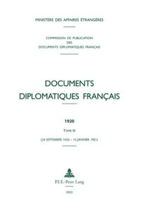 Documents diplomatiques français