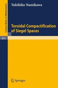 Toroidal Compactification of Siegel Spaces