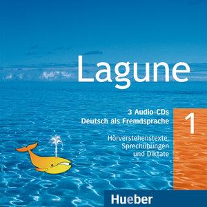 Lagune 1. 3 Audio-CDs mit Hörverständnis- und Sprechübungen