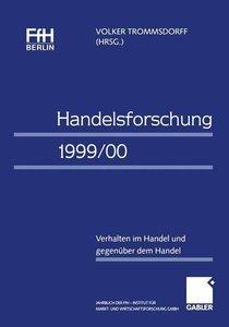 Handelsforschung 1999/00