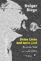 Holger Biege Liederbuch, inkl. CD mit 18 Titeln - zum Schließen ins Bild klicken