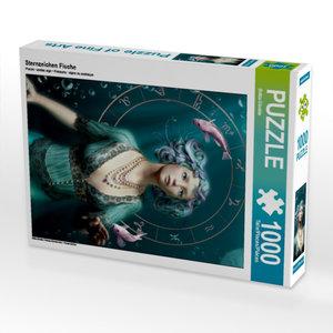 Sternzeichen Fische 1000 Teile Puzzle hoch