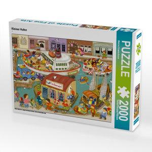 Kleiner Hafen 2000 Teile Puzzle quer