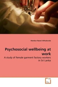 Psychosocial wellbeing at work