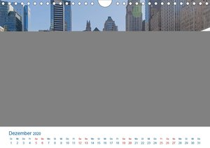 Die New Yorker City (Wandkalender 2020 DIN A4 quer)