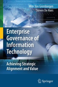 Enterprise Governance of Information Technology