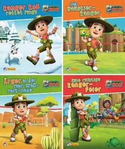 Nelson Mini-Bücher: 4er Ranger Rob 1-4
