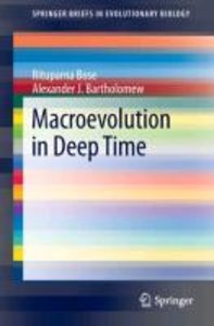 Macroevolution in Deep Time