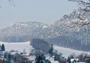 Die sächsische Schweiz (Tischaufsteller DIN A5 quer)