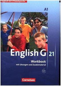 English G 21 - Ausgabe A. 2. Fremdsprache 01. 1. Lernjahr. Workb