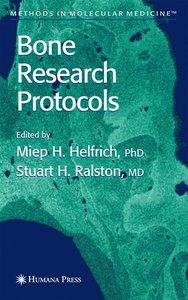 Bone Research Protocols