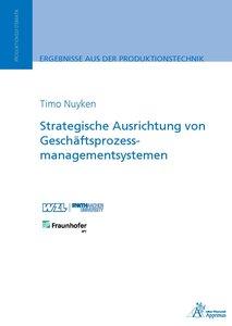 Strategische Ausrichtung von Geschäftsprozessmanagementsystemen