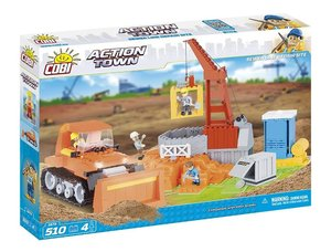 COBI 1674 - ACTION TOWN, Sewer Line Repair Site, Baustelle mit B