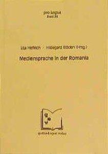 Mediensprache in der Romania