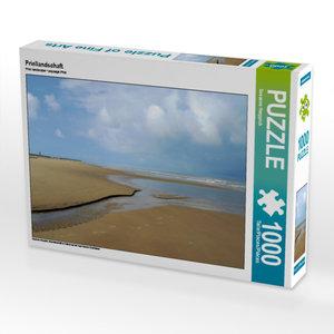 CALVENDO Puzzle Priellandschaft 1000 Teile Lege-Größe 64 x 48 cm