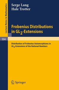 Frobenius Distributions in GL2-Extensions