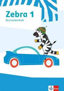 Zebra 1. Buchstabenheft