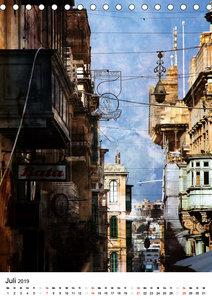 Silberstein porträtiert Maltas Hauptstadt Valletta (Tischkalende
