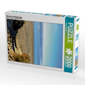 Strand von Wangerooge 2000 Teile Puzzle hoch