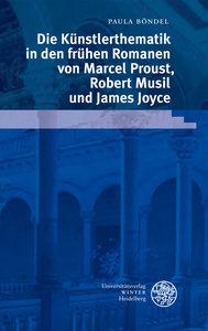 Die Künstlerthematik in den frühen Romanen von Marcel Proust, Ro