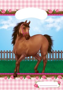 Lovely Horse Partytüten 6 Stück