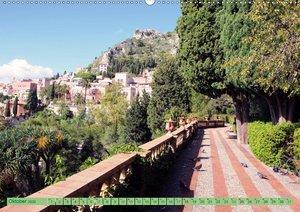 Taormina, die Stadt mit Blick auf den Ätna