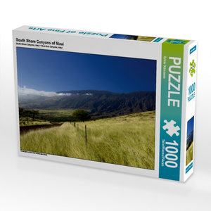 South Shore Canyons 1000 Teile Puzzle quer