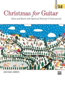 Christmas for Guitar in Tab: Solos and Duets with Optional Parts