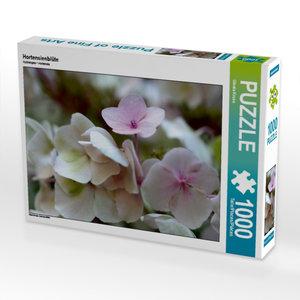 Hortensienblüte 1000 Teile Puzzle quer