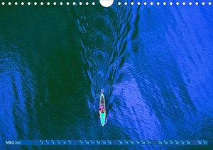 Stehpaddeln - Der neue Wassersport (Wandkalender 2020 DIN A4 que