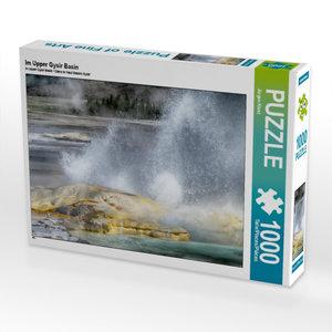 Im Upper Gysir Basin 1000 Teile Puzzle quer