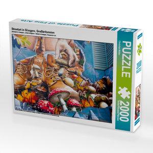 CALVENDO Puzzle Streetart in Glasgow, Großbritannien 2000 Teile