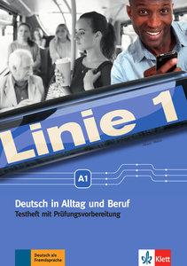 Linie 1 A1. Deutsch in Alltag und Beruf. Testheft mit Audio-CD