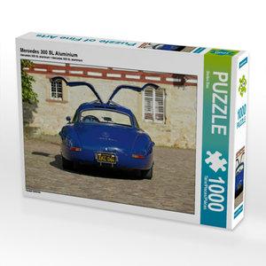Mercedes 300 SL Aluminium 1000 Teile Puzzle quer