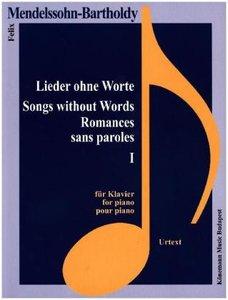 Mendelssohn-Bartholdy, Lieder ohne Worte I