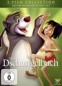 Das Dschungelbuch 1+2, 2 DVDs