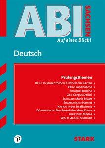 Abi - auf einen Blick! Deutsch Sachsen 2019/2020