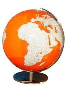 733485 ArtLine Globus ohne Swarovski, orange