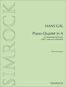 Piano Quartet in A
